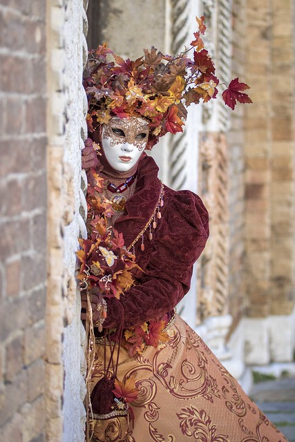 Portrait from Carnevale di Venezia 2020