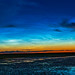 Noctilucent Clouds in Dawn Sky Panorama (July 7, 2020)