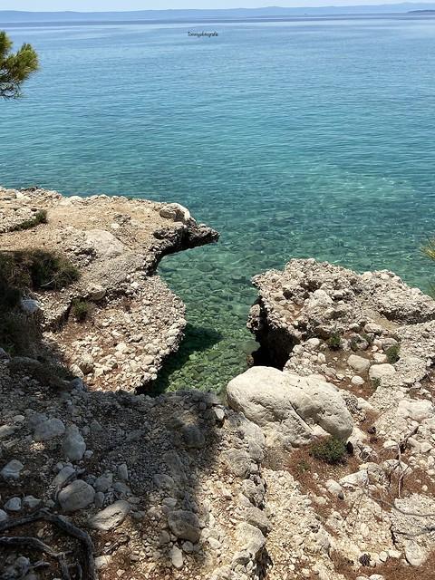 The Dalmatian coast
