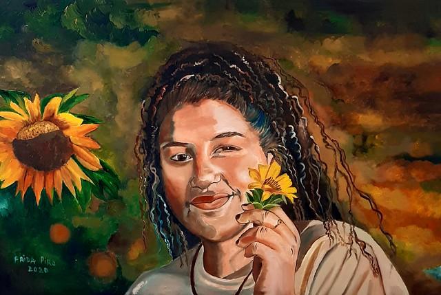 פרידה פירו Frida piro אמנית ישראלית יוצרת מודרנית ציירת ישראלית ציור ישראלי מודרני עכשווי ריאליסטית