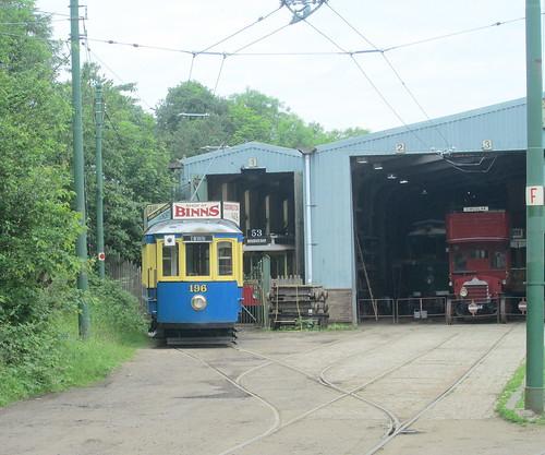 Porto Tram at Beamish