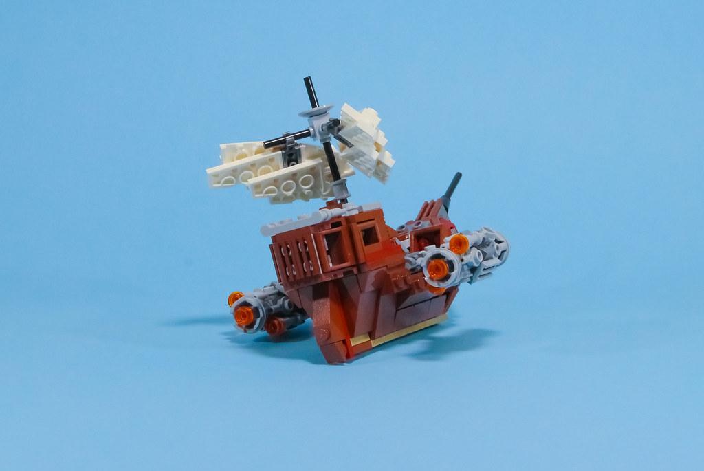 Sky Boat - rear