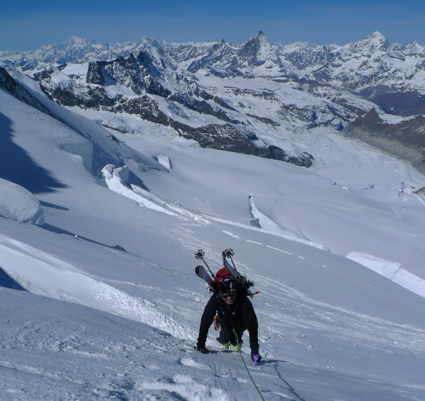 Nordend - Monte Rosa Walliser Alpen / Alpes valaisannes Switzerland photo 34