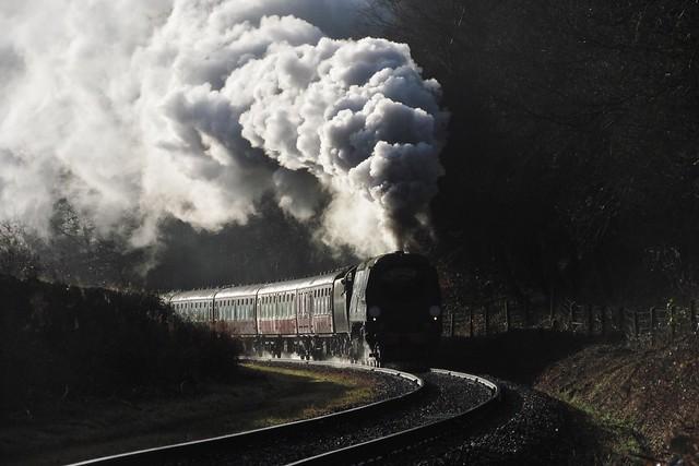 34092 'City of Wells' | Irwell Vale | East Lancashire Railway | 22.12.2016