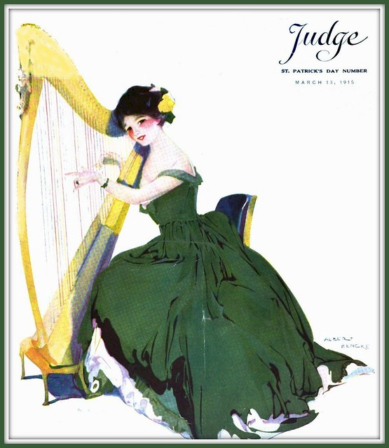 1915 March 13 - Cover - JUDGE - St. Patrick's Day -  art by Albert Hencke