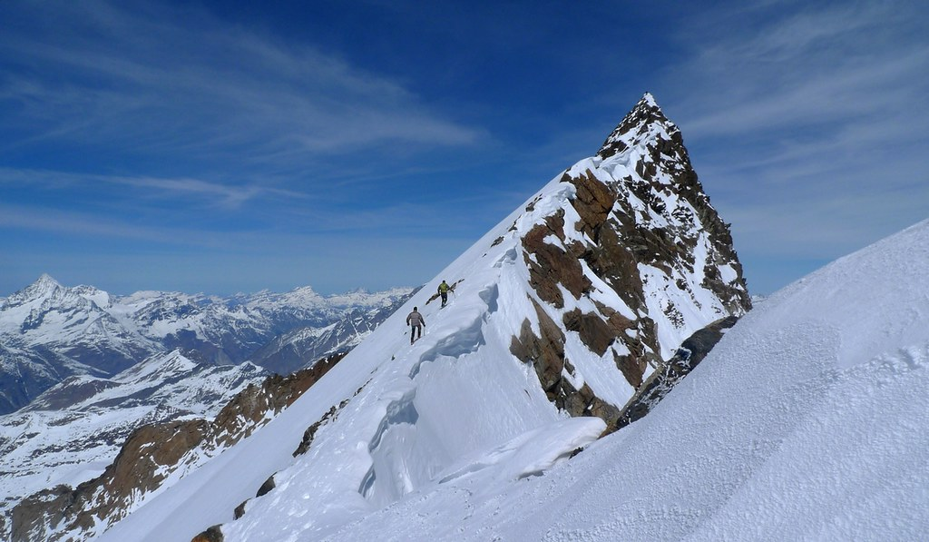 Nordend - Monte Rosa Walliser Alpen / Alpes valaisannes Switzerland photo 41