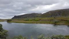 By Sandfjord river