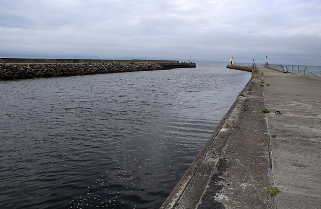 The mouth of the river Nairn in Nairn