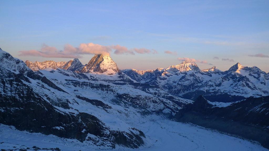 Monte Rosa Hütte Walliser Alpen / Alpes valaisannes Switzerland photo 34