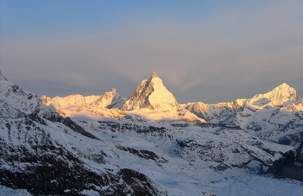Dufourspitze / Punta Dufour - Monte Rosa Walliser Alpen / Alpes valaisannes Švýcarsko foto 03