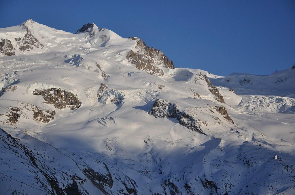 Dufourspitze / Punta Dufour - Monte Rosa Walliser Alpen / Alpes valaisannes Švýcarsko foto 14