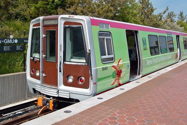 McDonald's wrap on Metro railcars [02]