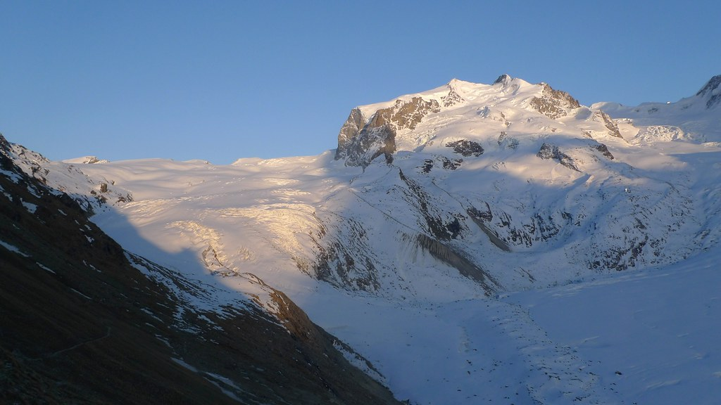 Dufourspitze / Punta Dufour - Monte Rosa Walliser Alpen / Alpes valaisannes Švýcarsko foto 16