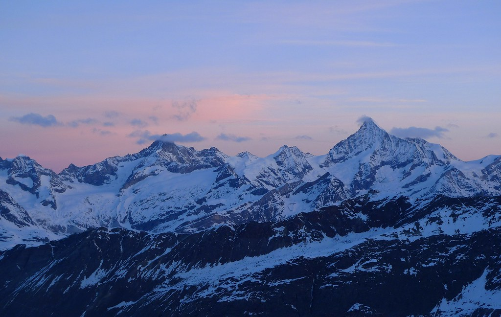 Dufourspitze / Punta Dufour - Monte Rosa Walliser Alpen / Alpes valaisannes Švýcarsko foto 24