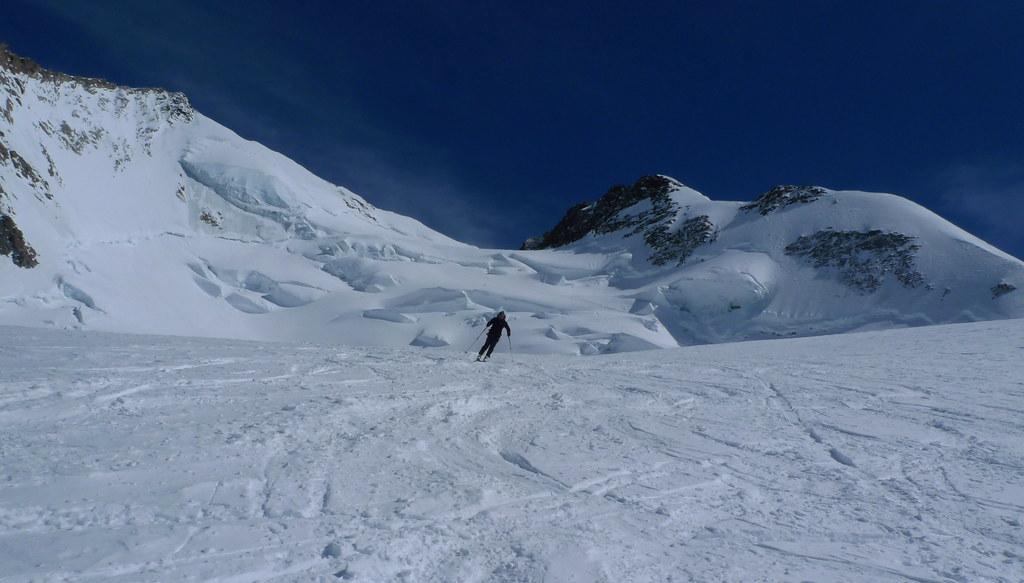 Dufourspitze / Punta Dufour - Monte Rosa Walliser Alpen / Alpes valaisannes Švýcarsko foto 11