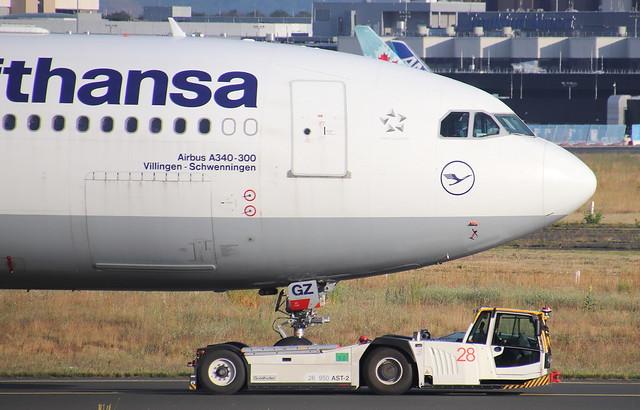 Lufthansa, D-AIGZ, MSN 347, Airbus A 340-313X, 04.07.2020,  FRA-EDDF, Frankfurt
