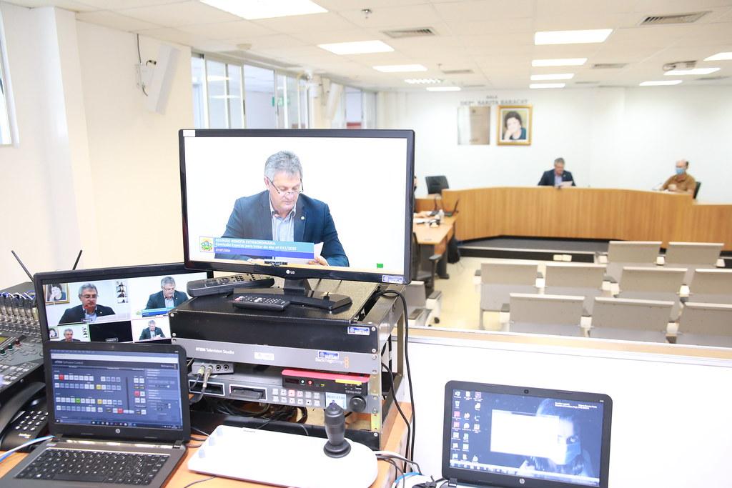 Reunião da Comissão Especial - Ato n° 012/2020/SPMD/MD