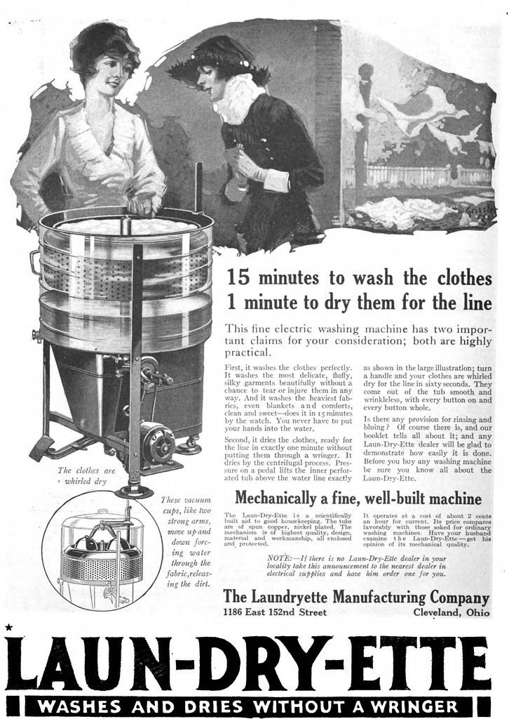 Laun-Dry-Ette 1922