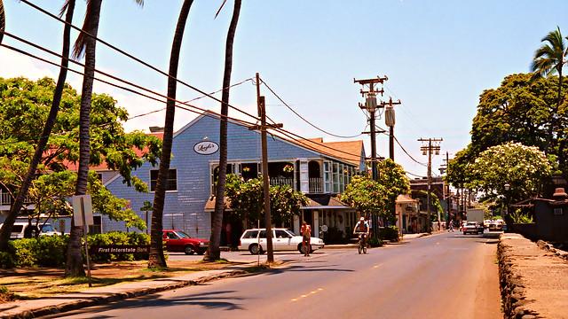 Longhi's in Lahaina, Maui, July 1986