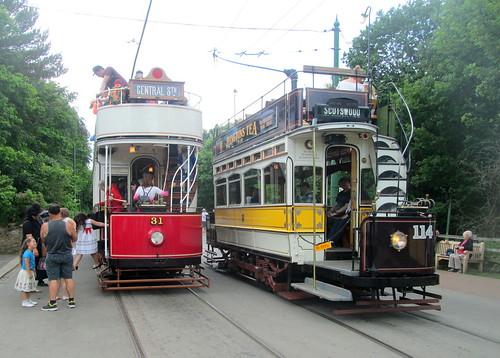 More Beamish Trams