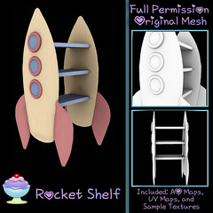 [Sherbert] Rocket Shelf Ad  -25LT NEW RELEASE for July 7