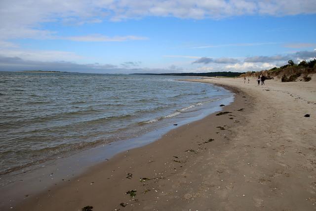 The beach near Nairn