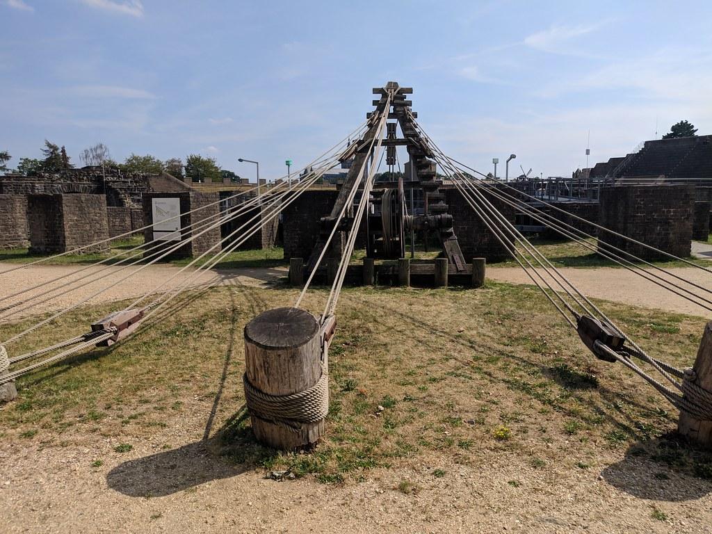 roman archaeological parc xanten germany  roman