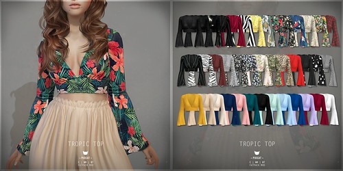 Tropic Top - Collabor88 | by areve | -pixicat-