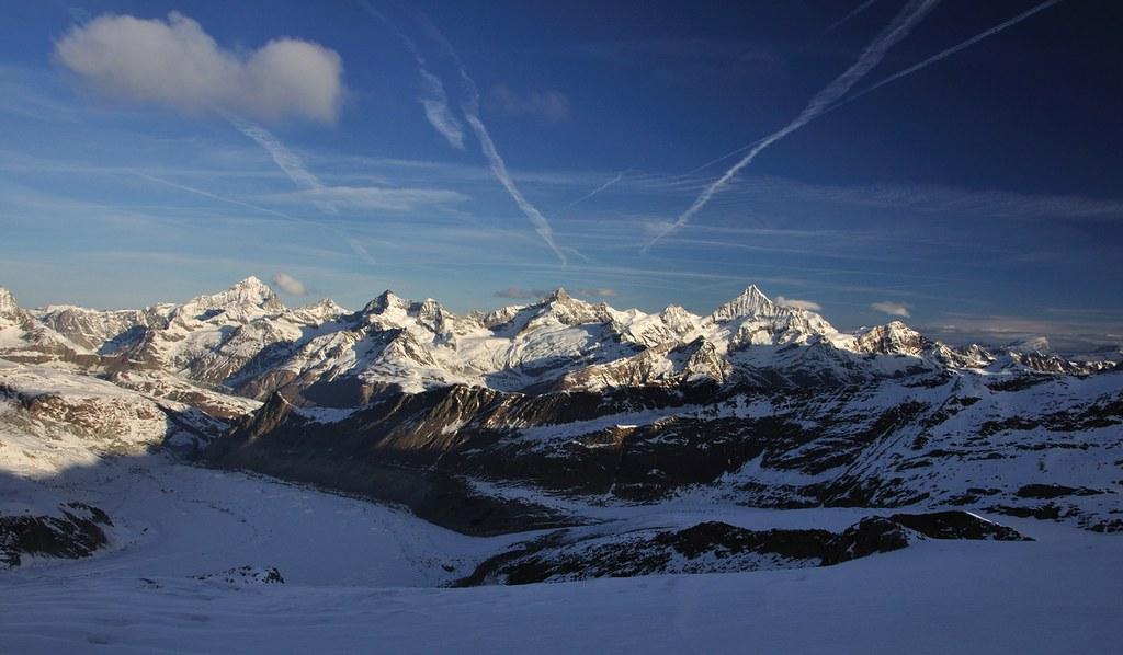 Dufourspitze / Punta Dufour - Monte Rosa Walliser Alpen / Alpes valaisannes Švýcarsko foto 26
