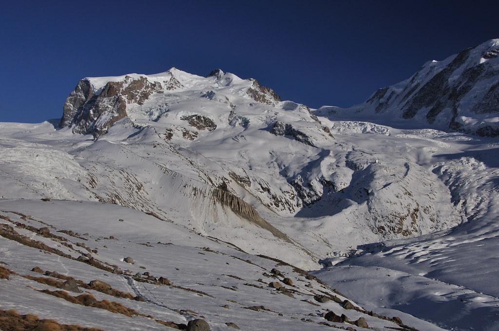 Dufourspitze / Punta Dufour - Monte Rosa Walliser Alpen / Alpes valaisannes Švýcarsko foto 15