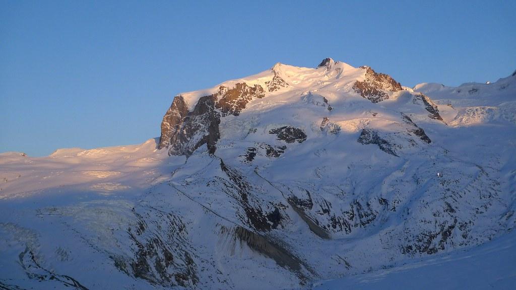 Dufourspitze / Punta Dufour - Monte Rosa Walliser Alpen / Alpes valaisannes Švýcarsko foto 17