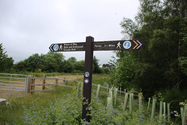 Footpath near Forres