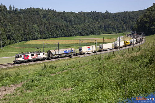 Re 420 310 . SBB Cargo . Burgdorf . 25.06.20.