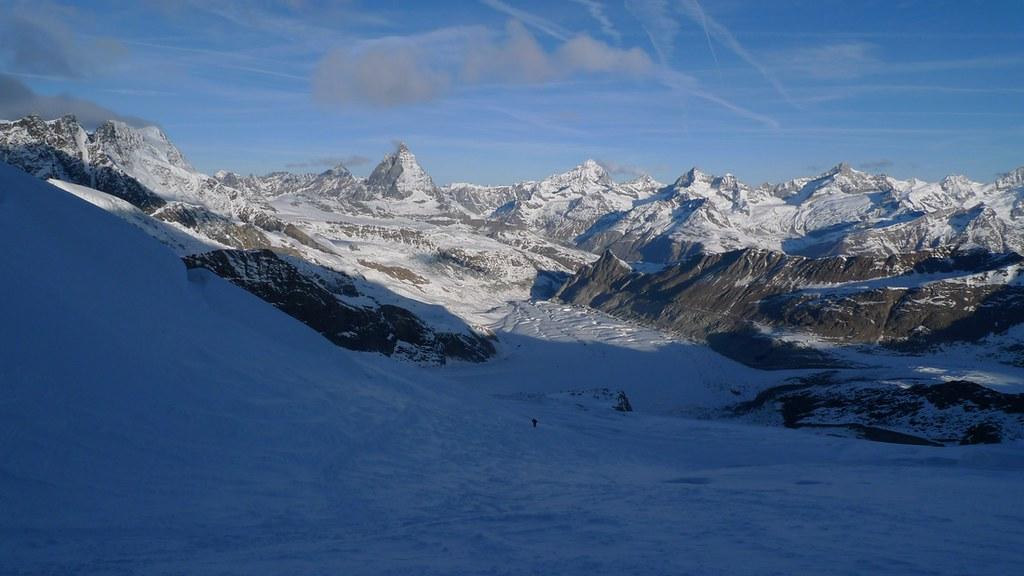 Dufourspitze / Punta Dufour - Monte Rosa Walliser Alpen / Alpes valaisannes Švýcarsko foto 07