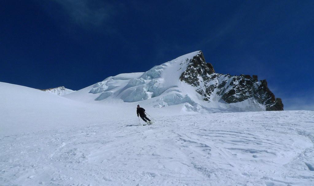Dufourspitze / Punta Dufour - Monte Rosa Walliser Alpen / Alpes valaisannes Švýcarsko foto 12