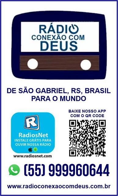 Acesse a Rádio Conexão com Deus, de São Gabriel para o mundo