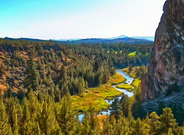 Crooked River from Smith Rock