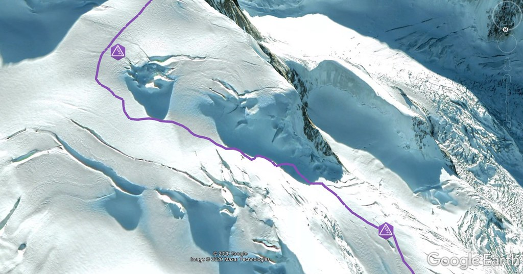 Dufourspitze / Punta Dufour - Monte Rosa Walliser Alpen / Alpes valaisannes Švýcarsko foto 20