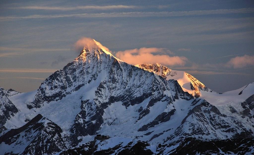 Dufourspitze / Punta Dufour - Monte Rosa Walliser Alpen / Alpes valaisannes Švýcarsko foto 23