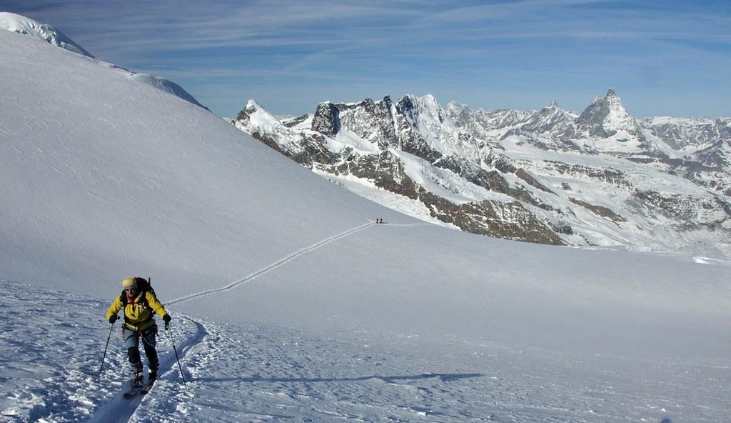 Dufourspitze / Punta Dufour - Monte Rosa Walliser Alpen / Alpes valaisannes Švýcarsko foto 01