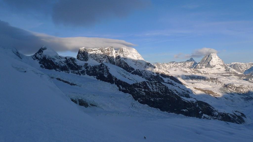 Dufourspitze / Punta Dufour - Monte Rosa Walliser Alpen / Alpes valaisannes Švýcarsko foto 05