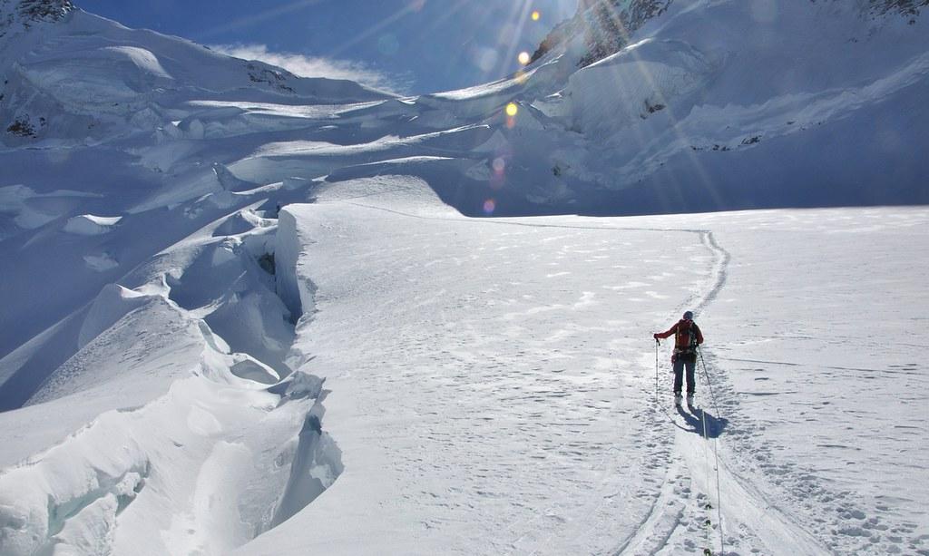Dufourspitze / Punta Dufour - Monte Rosa Walliser Alpen / Alpes valaisannes Švýcarsko foto 02