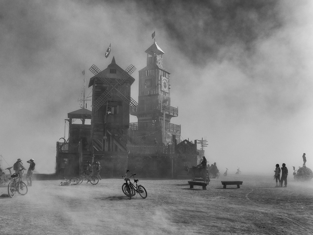 Dust Storm at the Folly