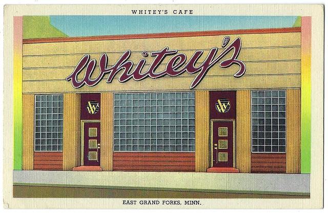Whitey's Cafe. East Grand Forks, Minn.