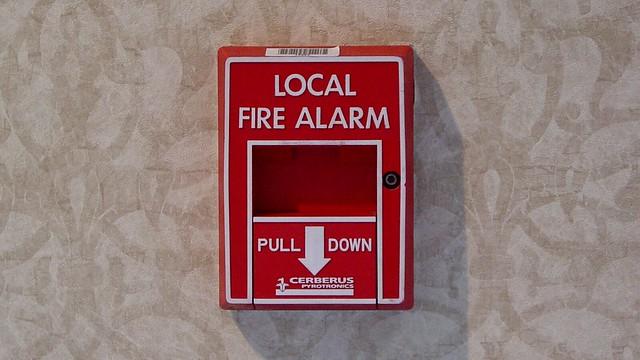 Fire alarm at Loews L'Enfant Plaza Hotel