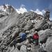Satisfaction on the Kongma La with Pokalde summit