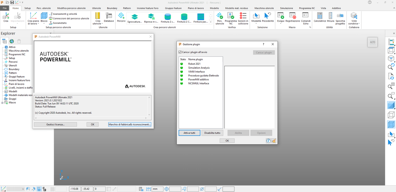 Working with Autodesk PowerMill Ultimate 2021.0.1 full license