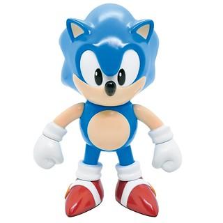 世界上最有名的刺蝟!Electric Toys《音速小子》SOFVIPS系列第二彈「音速小子」日製軟膠人偶(ソニック・ザ・ヘッジホッグ)