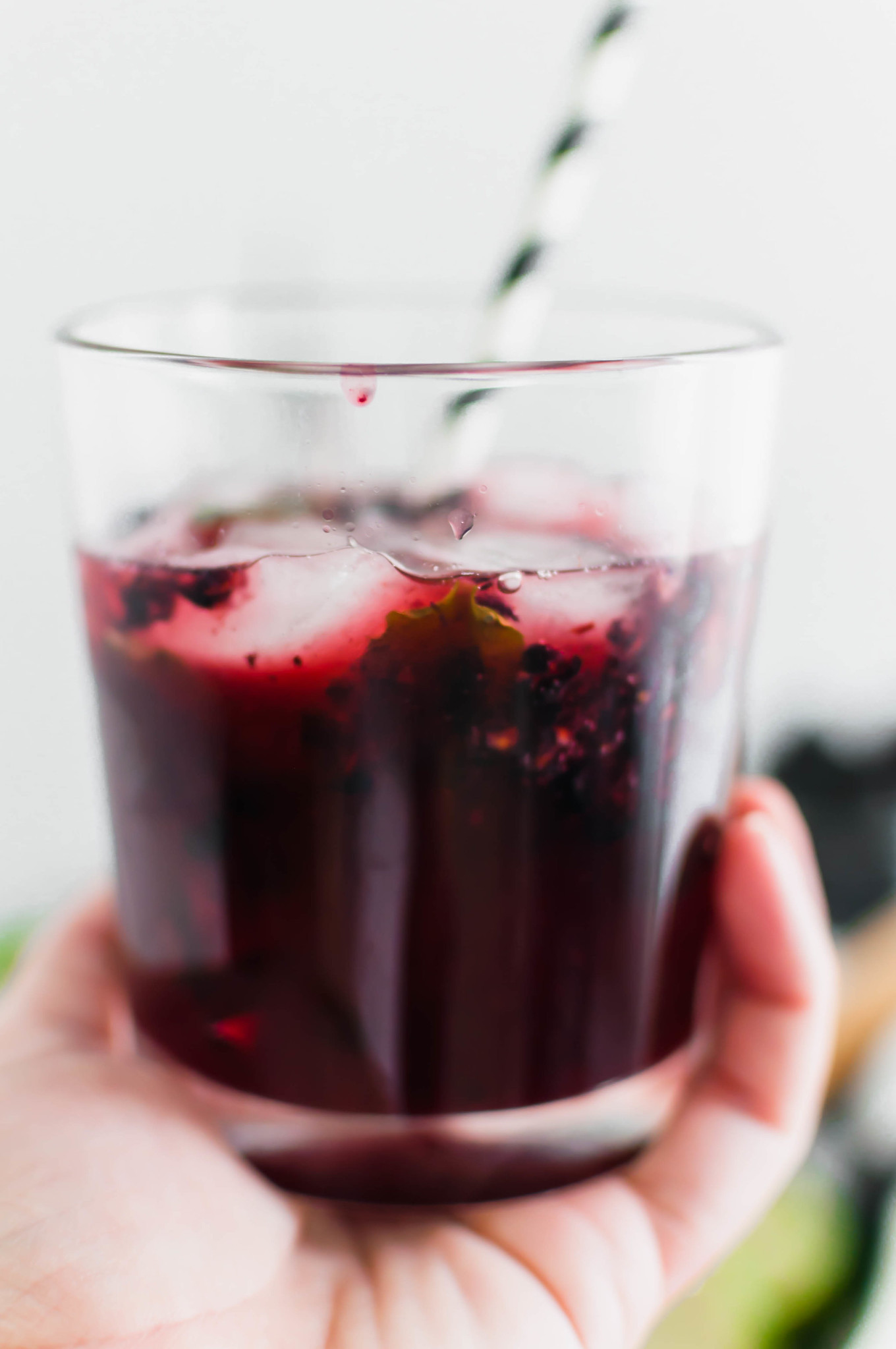 These Blackberry Mojitos will quickly become the drink of summer. An easy blackberry simple syrup and all the classic mojito ingredients are all you need for this refreshing cocktail.