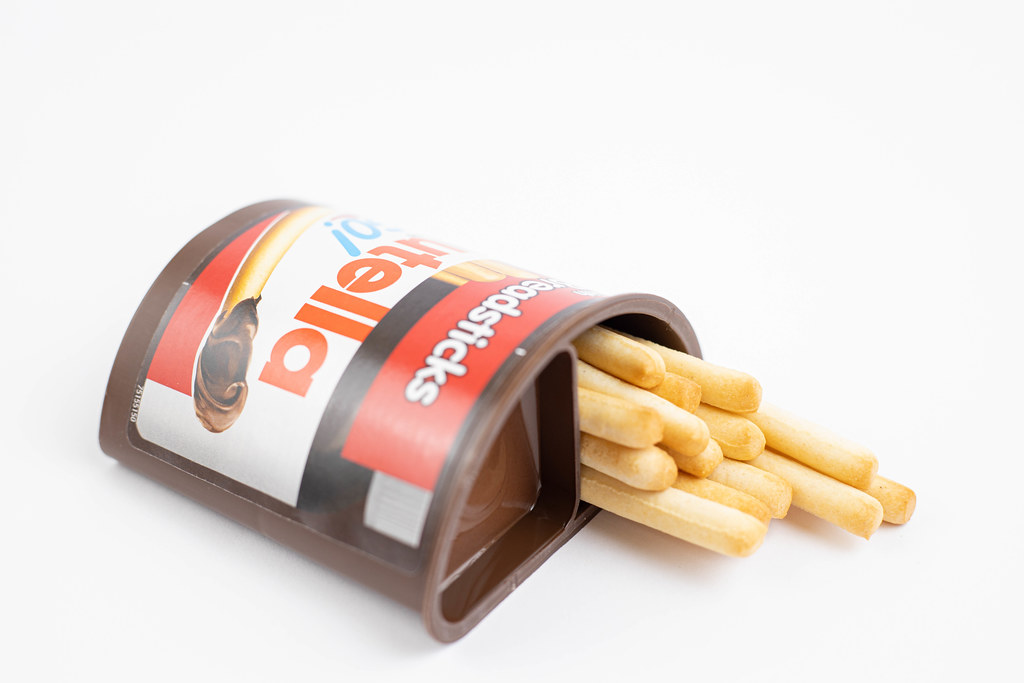 Nutella Sticks on the white background | 💾 Marco Verch is a… | Flickr